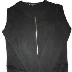 086f53c6161a45 Anne Klein zip up sweater.